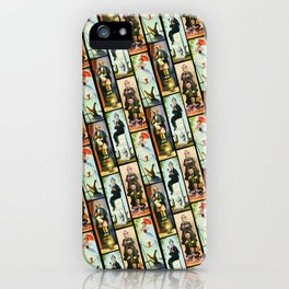 Haunted Mansion Stretch Paintings iPhone Case