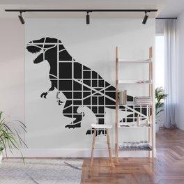 Capitalsaurus Rex Wall Mural
