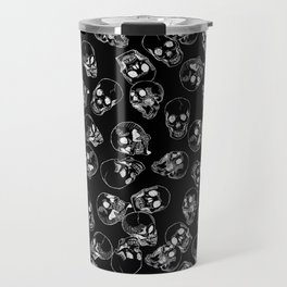 A Lot of Skulls Black Travel Mug