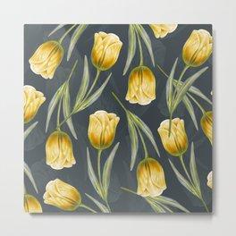 Tulipa Pattern 1.1 Metal Print