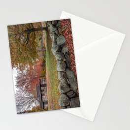 Babson Museum on a rainy October day 10-24-18 Stationery Cards