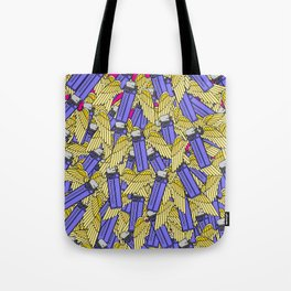 A Flock of Wild Lighters Tote Bag