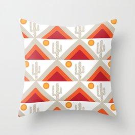 DESERT HILLS 1 Throw Pillow