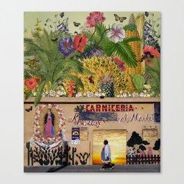 Carnicería Canvas Print