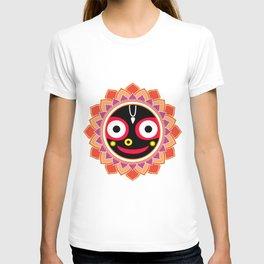 Jahannatha Mandala, Hare Krishna, The Lord of the Universe, Big Smile T-shirt