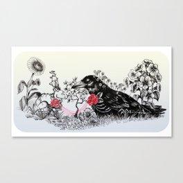 sunmoon Canvas Print