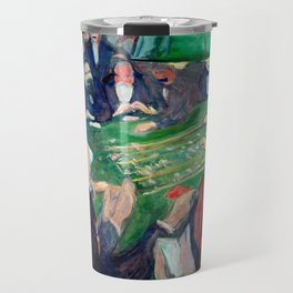 Edvard Munch - At the roulette table in Monte Carlo Travel Mug