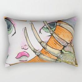 FaceHugger Rectangular Pillow