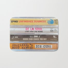 Hip Hip Cassettes Bath Mat