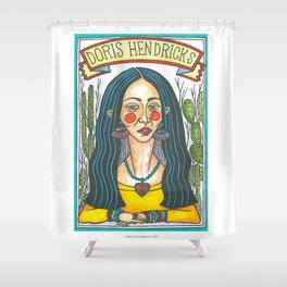 Doris Hendricks Shower Curtain
