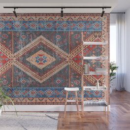 (N16) Boho Moroccan Oriental Artwork for Rustic and Farmhouse Styles. Wall Mural