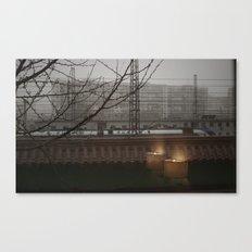 Morning Line Canvas Print