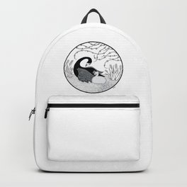 Black Swan and Moonlark Backpack