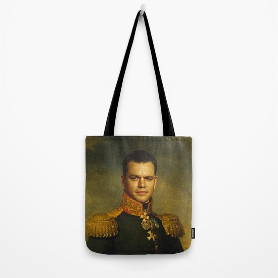 Matt Damon - replaceface Tote Bag