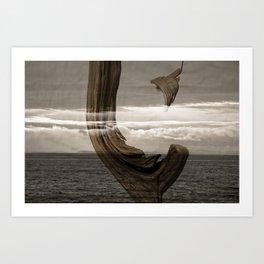 lost wood awakening Art Print