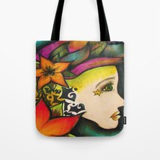 Nicole (Flower) Tote Bag
