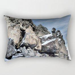 Glacial Rocks Rectangular Pillow