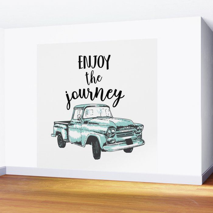 Enjoy the Journey Wall Mural
