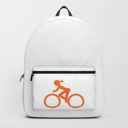 Bike Girl Backpack