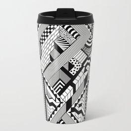 Black & White Travel Mug