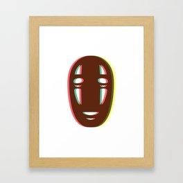 Kaonashi - No Face Framed Art Print