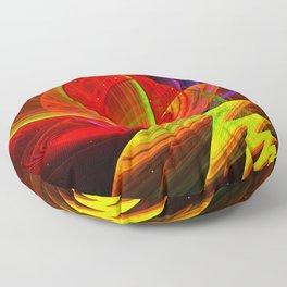 Power Point, modern abstract art Floor Pillow