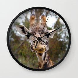 Masai Giraffee Wall Clock