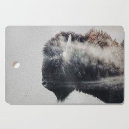 Wild West Bison Cutting Board