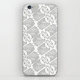 Elephant Pattern by dana alfonso iPhone Skin