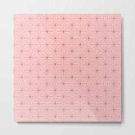 Nezuko Pattern Metal Print