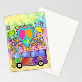 Love Bus Stationery Cards