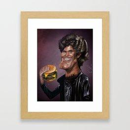David Hasselhoff Framed Art Print
