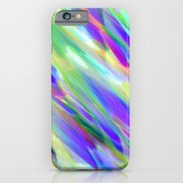 Colorful digital art splashing G401 iPhone Case