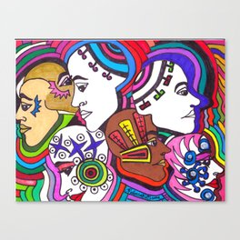 Head Trip Canvas Print