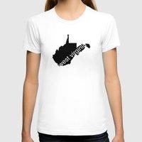 virginia T-shirts featuring West Virginia by Isabel Moreno-Garcia