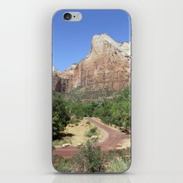 Crossroads At The Court Of The Patriarchs iPhone Skin