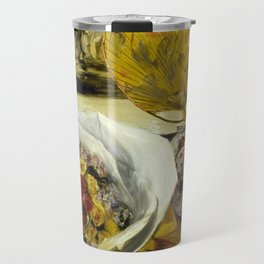 Still Life with Bouquet Travel Mug