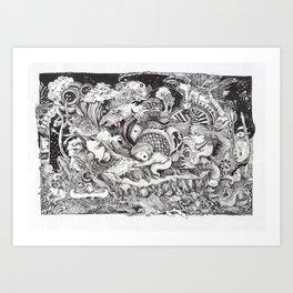Jungle Book Series Art Print