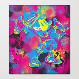 Dipopai - Look on up - Pink Canvas Print