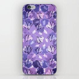 Mosaic Ginkgo (Ultra-Violet) iPhone Skin