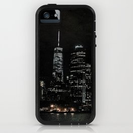 NYC Night Skyline 2015 iPhone Case