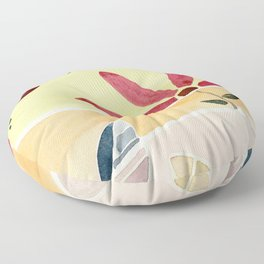 Watercolor Floor Pillow