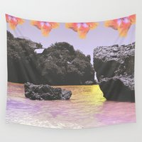 bali Wall Tapestries featuring Bali Daze Dua by Charlotte hills