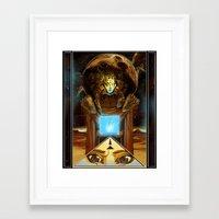 1984 Framed Art Prints featuring 1984  by Cassandra Siemon C.M. Laserfield