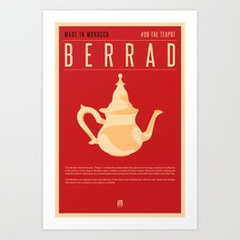 MADE IN MOROCCO #09-THE TEAPOT Art Print