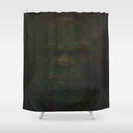 Shrek Oil On Canvas Shower Curtain