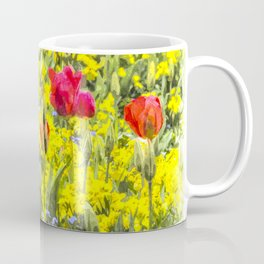 Summer Flowers Art Coffee Mug