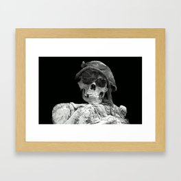 skullcap Framed Art Print