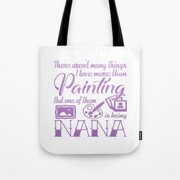 Painting Nana Tote Bag