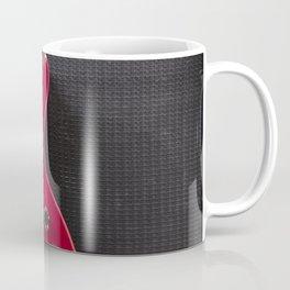 Red Guitar Coffee Mug
